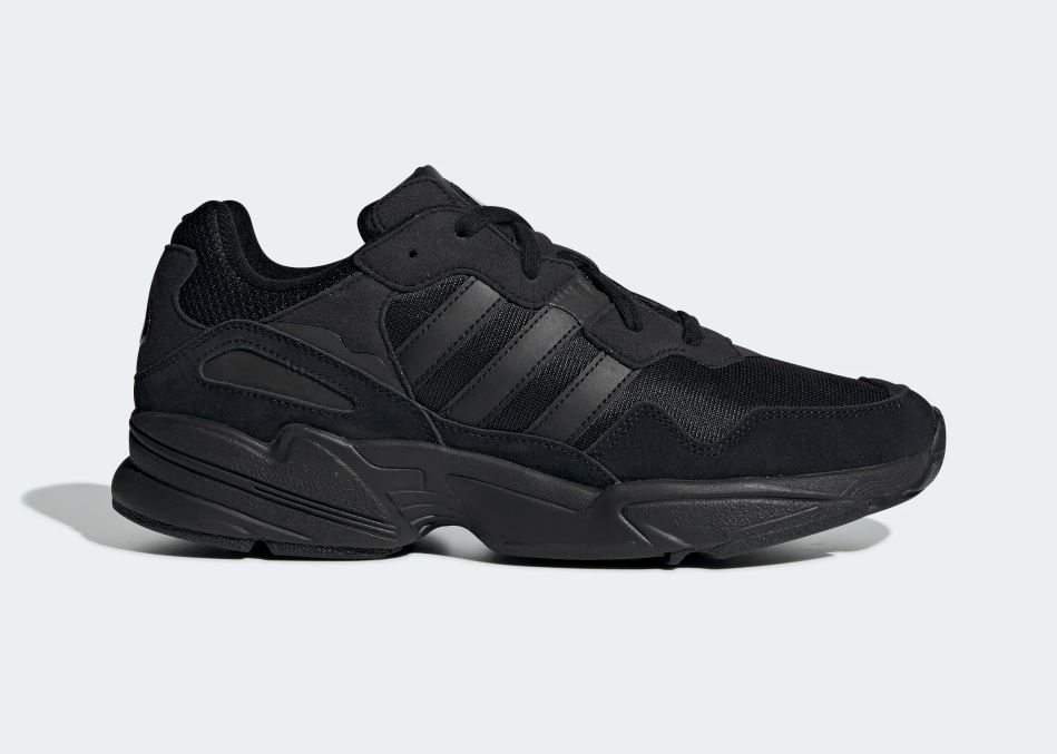 Adidas YUNG-96 Sneaker Herren Herrenschuhe Turnschuhe Schuhe Black F35019