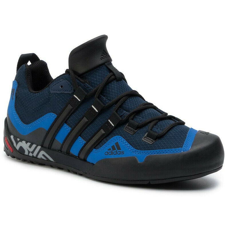 uk store official images buying new Details about ADIDAS TERREX SWIFT SOLO EF0363 CONAVY/BLACK/BLUE MEN'S SHOES  TREKKING NEW 2019!