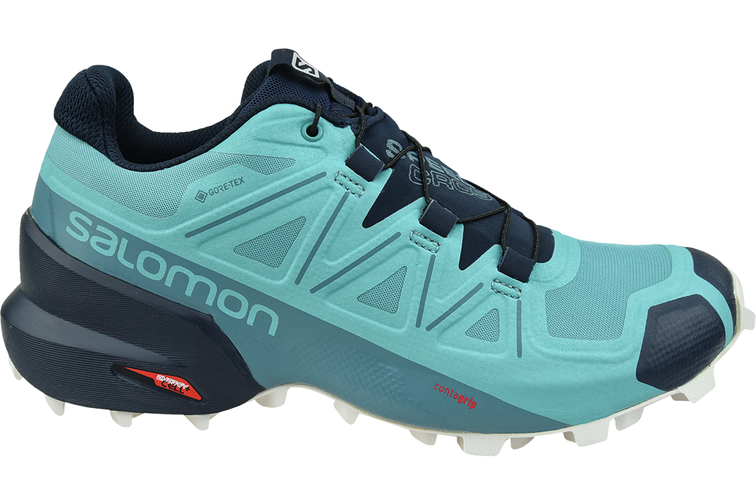 Details about SALE!!! SALOMON SPEEDCROSS 5 GTX 407946 WOMEN'S TURQUOISE  TRAIL RUNNING ORIGINAL